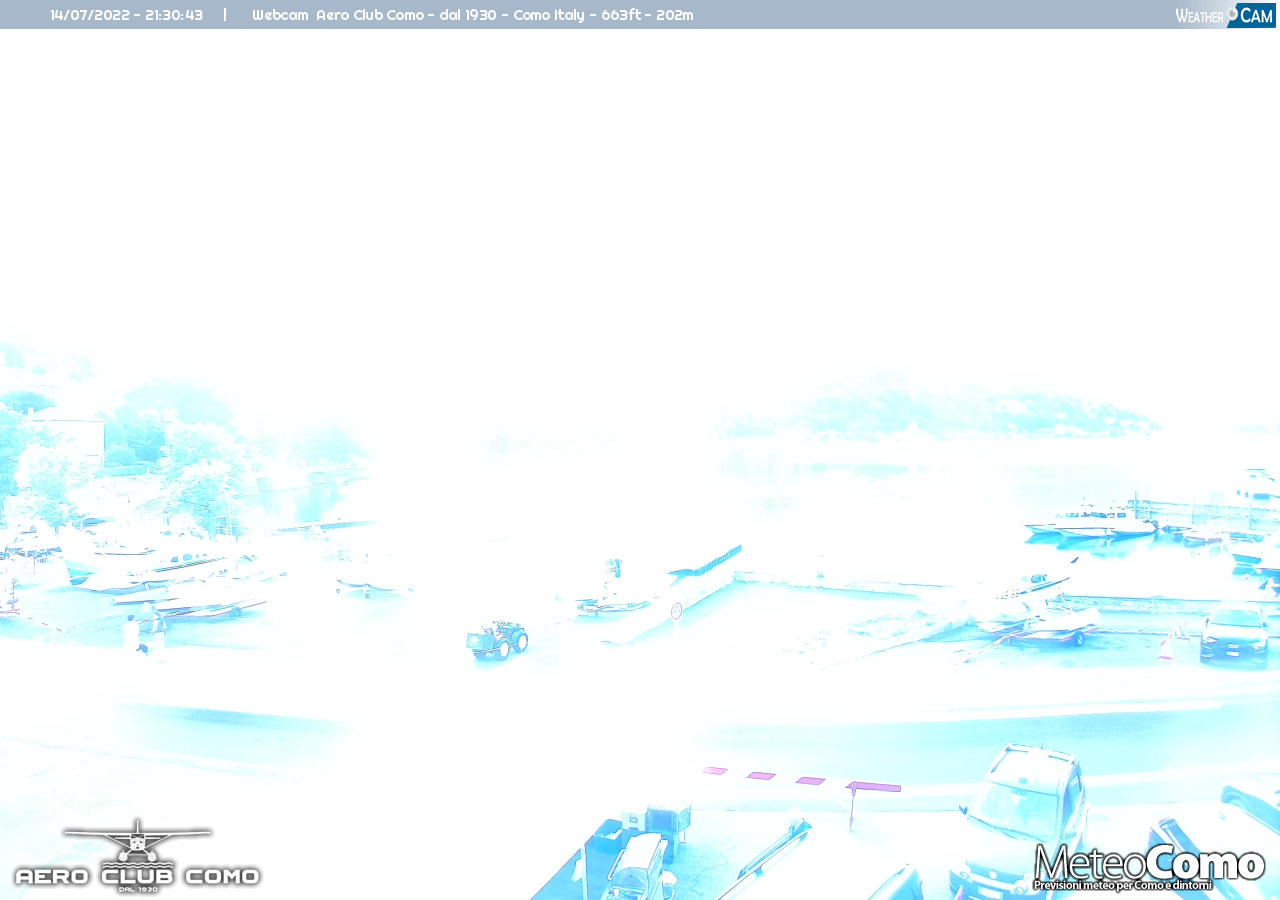 Webcam Côme