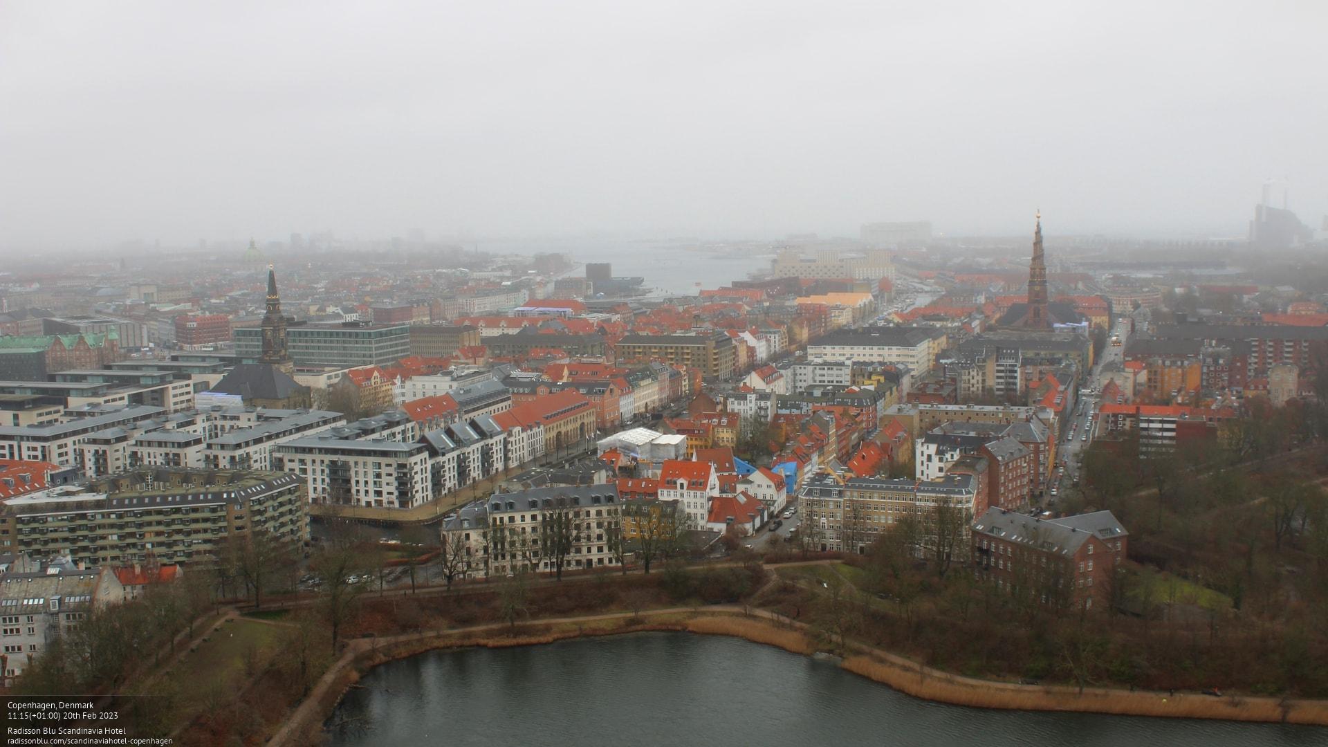Webcam Copenhague