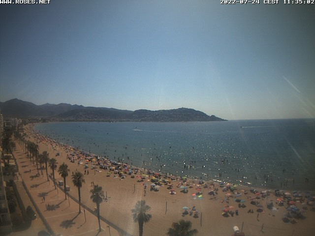 Webcam Costa Brava