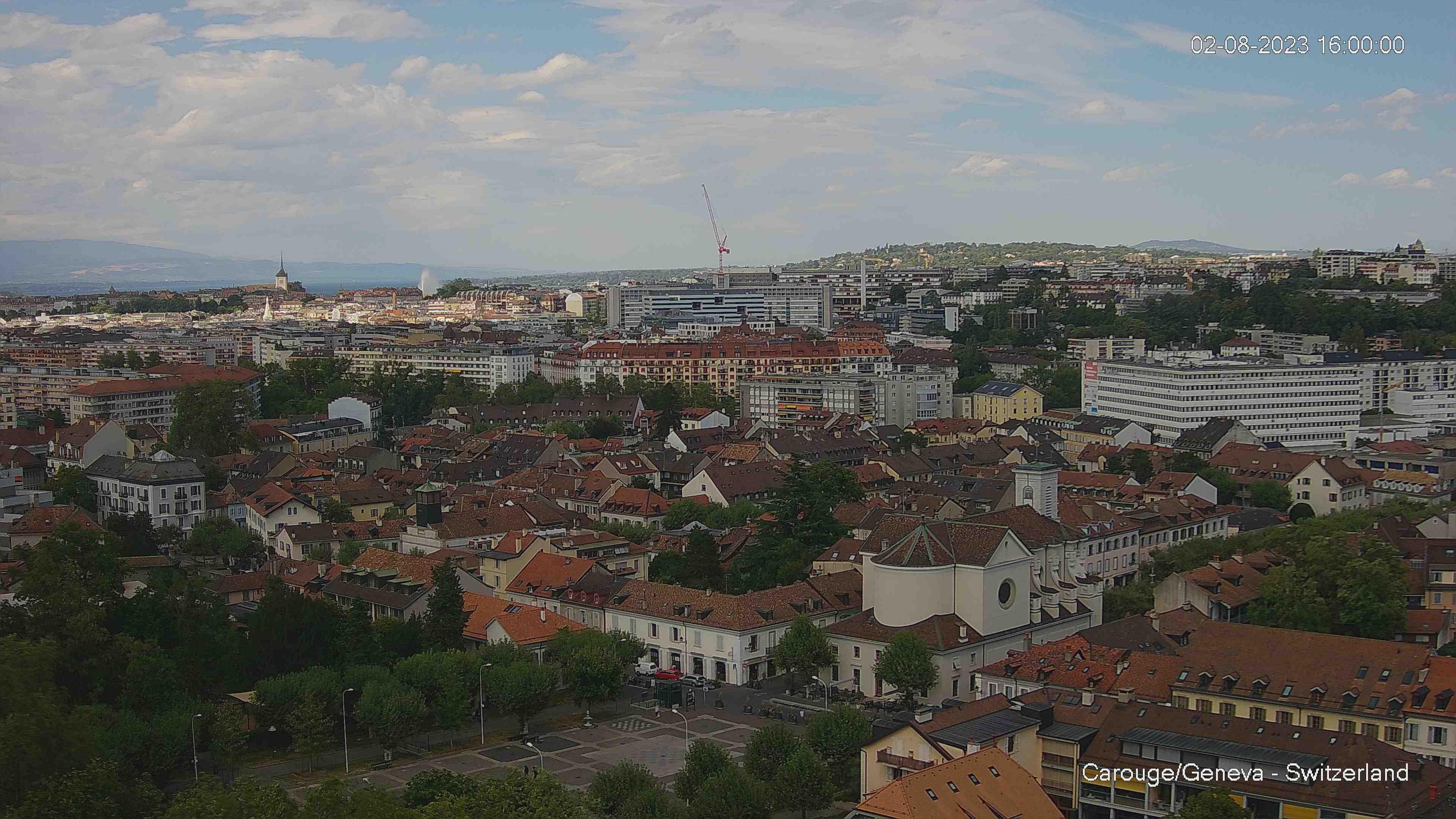 Webcam Genève