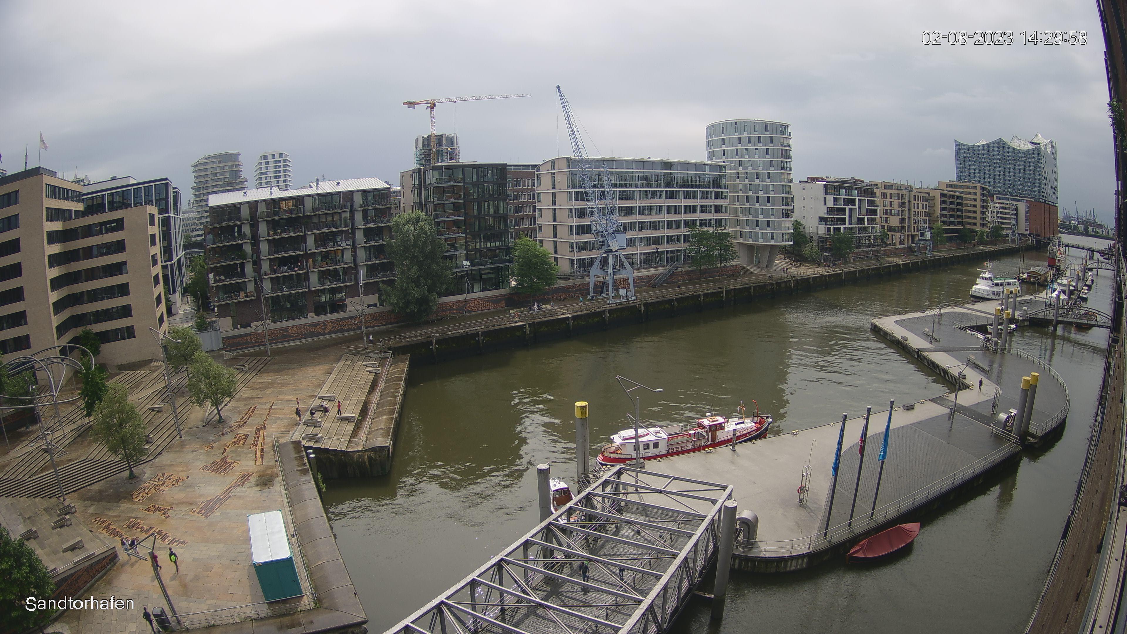 Webcam Hambourg