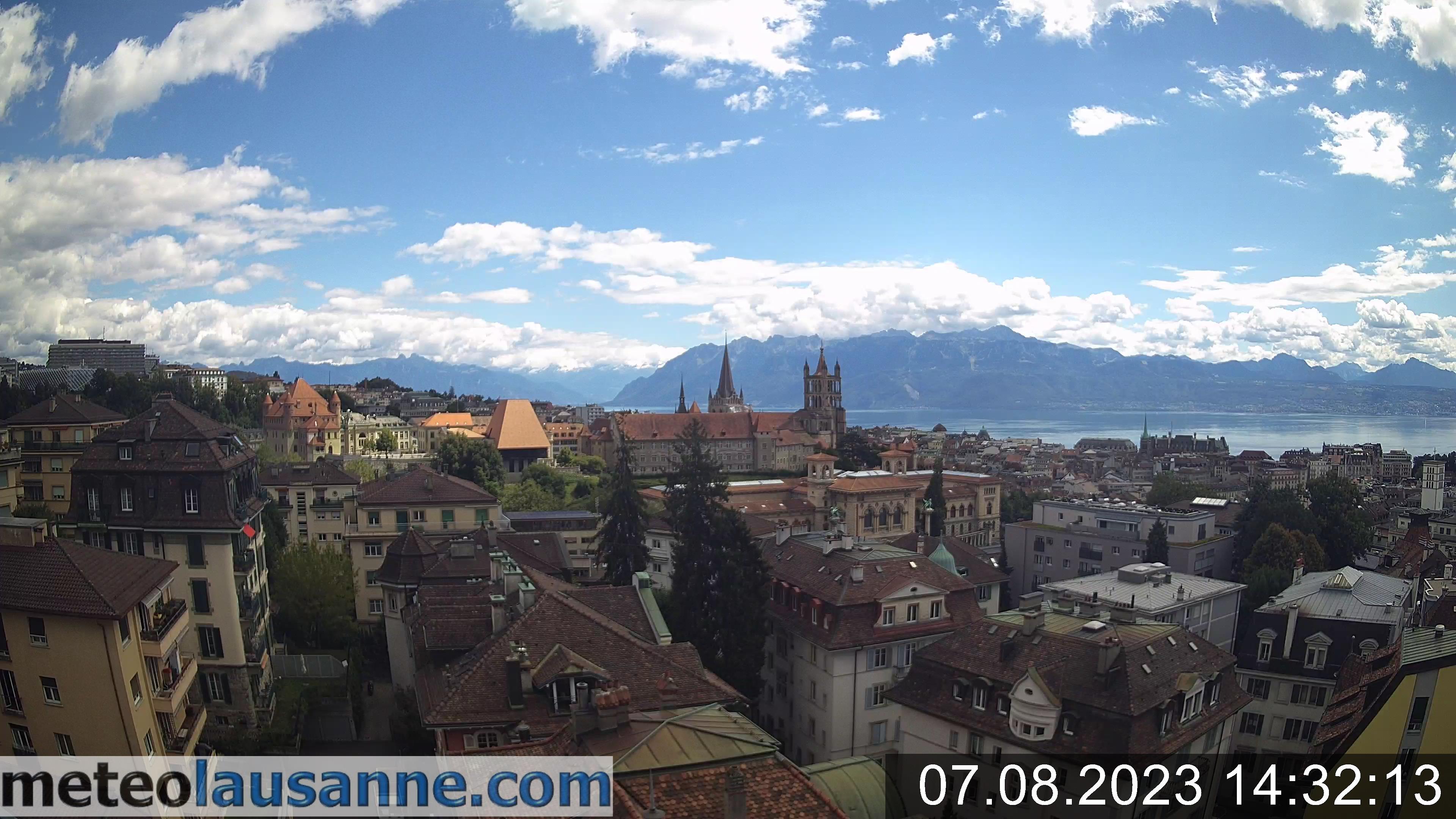 Webcam Lausanne