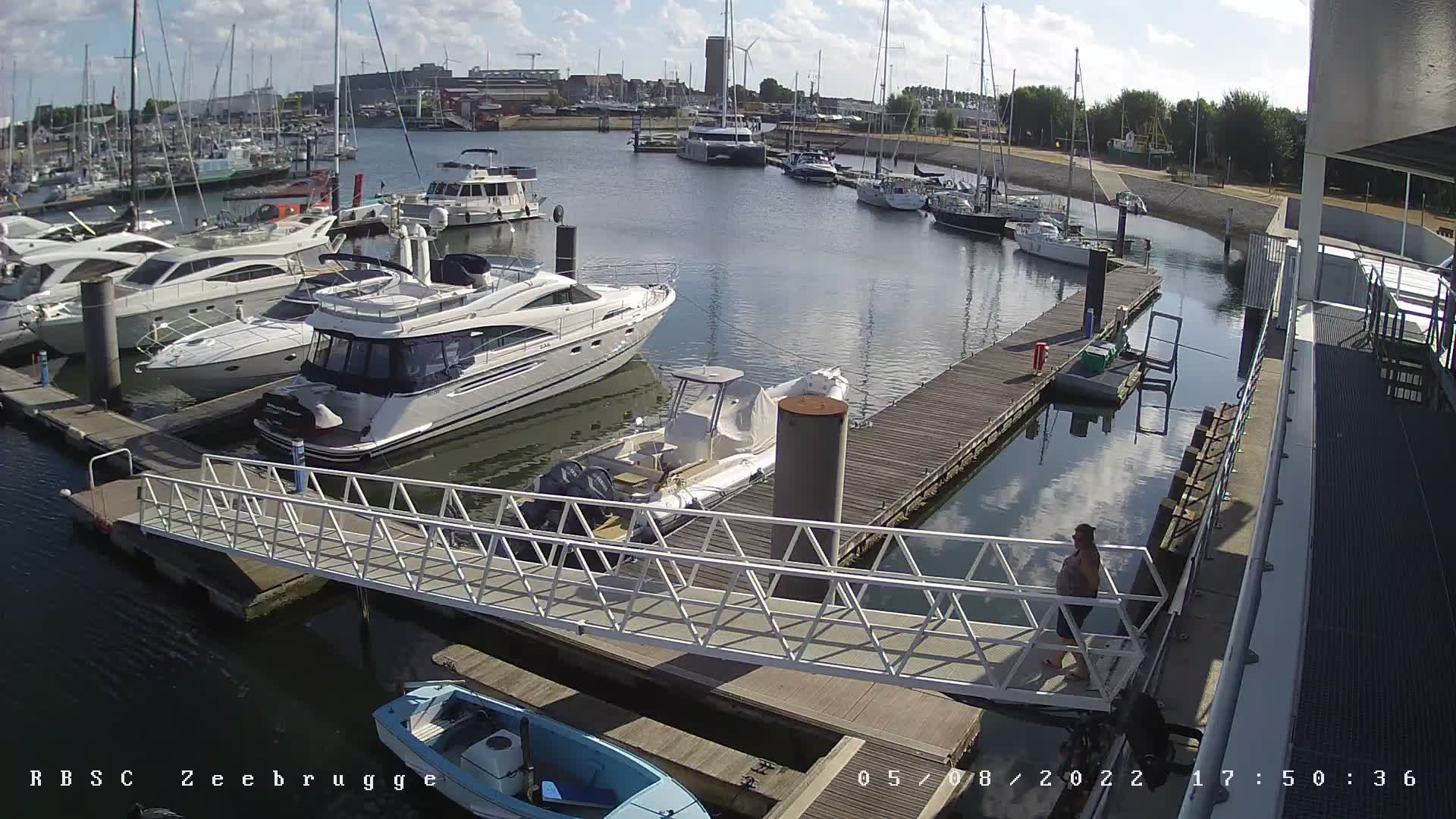 Webcam Zeebruges